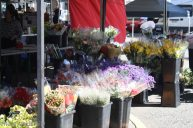 Another flower stall.